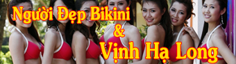 Người Đẹp Bikini ở Vịnh Hạ Long
